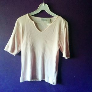 Lizwear Jeans petite Liz Claiborne Medium shirt